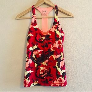 The North Face Vaporwick Floral Pattern Tank Top